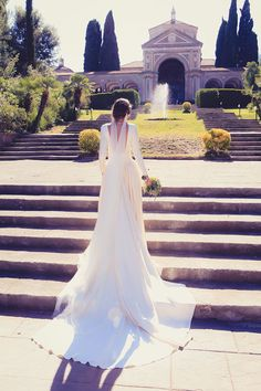 Dresses that are beautiful even in back Wedding Dressses, Modest Wedding Gowns, Bridal Dresses, Elegant Wedding, Wedding Bride, Amazing Wedding Dress, Beautiful Bride, Wedding Styles, Marie
