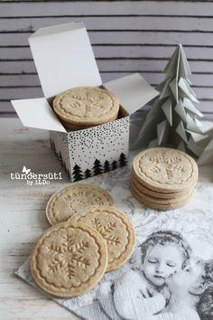 Pecsétes fahéjas keksz Xmas Desserts, Cookie Desserts, Xmas Food, Christmas Sweets, Gourmet Gifts, Food Gifts, Cake Cookies, Christmas Cookies, Cookie Time