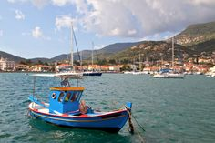 The Ionian island of Ithaki offers unspoiled Greek countryside and is celebrated as the home of Homer's Odysseus.