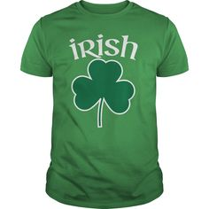 Irish Shamrock Pride t-shirt from SportzTeez Apparel. The perfect Irish St. Patrick's Day design!