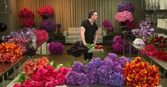 Jeff Leatham's Floral Studio at Four Seasons Hotel Los Angeles at Beverly Hills Jeff Leatham, Four Seasons Hotel, Flower Arrangements, Floral Design, Floral Wreath, Creations, Bouquet, Entertaining, Amazing