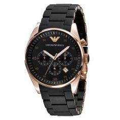 Armani Chronograph Bracelet Black Dial Men's Watch - AR5905 Armani. $335.94. 43mm Case Diameter. 30 Meters / 100 Feet / 3 ATM Water Resistant. Quartz Movement. Mineral Crystal. Save 15% Off!