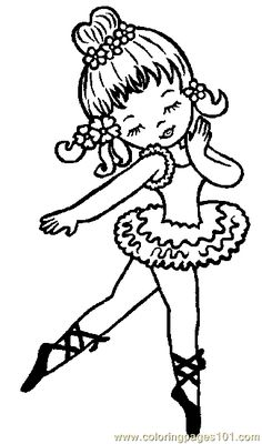 *Girls coloring pictures ballet coloring pages Ballerina Coloring Pages, Dance Coloring Pages, Colouring Pics, Coloring Book Pages, Printable Coloring Pages, Free Coloring, Coloring Pages For Kids, Coloring Sheets, Copics