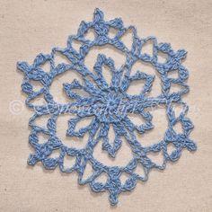 Tabeguache Peak Snowflake crochet free pattern
