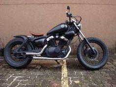 Yamaha Virago 250 Bobber Motorcycle