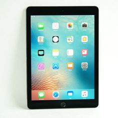 Apple iPad Pro 128GB Wi-Fi 9.7in - Space Gray - Latest Model (MLMV2LL/A)