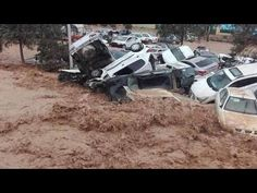 Terrifying Floods submerged cities in Iran   Floods in Bushehr - Dec. 06, 2020 سيل استان بوشهر - YouTube