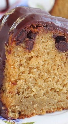 Chocolate Chip Honey Cake Recipe (no sugar added)