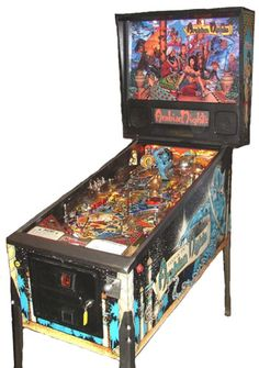 """Williams """"Tales of the Arabian Nights"""" pinball machine Chinese Painting, Chinese Art, Theatre Games, Theater, Zombie Drawings, Arcade Game Machines, Digital Playground, Retro Images, Japanese Calligraphy"""