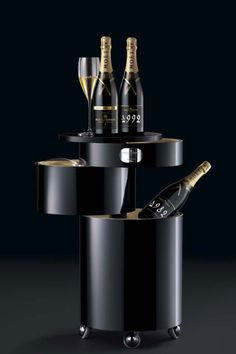 design champagne cooler www.the-champagne.ch Zürcher-Gehrig AG Switzerland @ZGAChampagne www.facebook.com/pages/Zurcher-Gehrig-AG