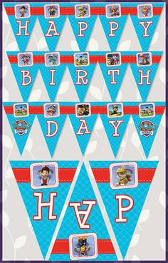 Free Printable Paw Patrol Goody Bag Tag