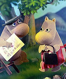 The Moomins - I loved The Moomins...I still love The Moomins :-)