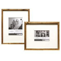 $16.99-19.99 @ Target Want a bunch of these for the Frame Wall in our hallway. Threshold Frame with Mat Collection