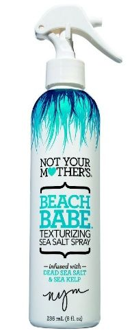 Salty spray makes for beachy waves! It's never been easier to get perfect summer hair with Not Your Mother's