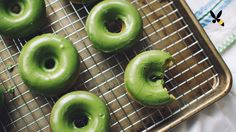 Matcha Green Tea Baked Donuts. What's more indulgent than a donut? A matcha green tea donut! This is part of a Tastemade Matcha green tea collaboration that ...