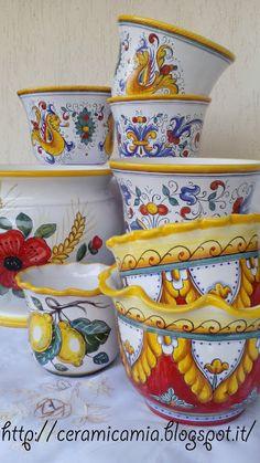 Flower pot, Vasi per le piante Ceramic Cafe, Diy Dresser Makeover, Art Decor, Decor Ideas, Gift Ideas, Diy For Kids, Vintage Posters, Flower Pots, Etsy Seller