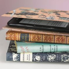 Classic Book Cover For Kindle. Disguise your Kindle ereader with our range of classic hand made book case covers. $45.42