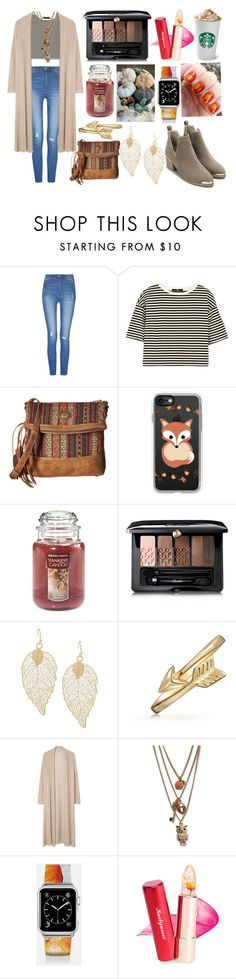 """""""Fall in love with the streets."""" by cupakeartist30 ❤ liked on Polyvore featuring TIBI, American West, Casetify, Yankee Candle, Guerlain, Bling Jewelry, MANGO and Aéropostale"""
