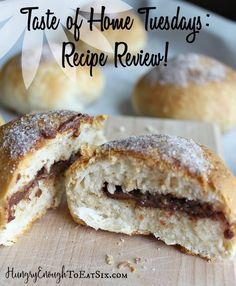 I join fellow Taste of Home Volunteer Field Editors to share reviews of recipes from the Taste of Home website. My recipe review is for Chocolate Biscuit Puffs.