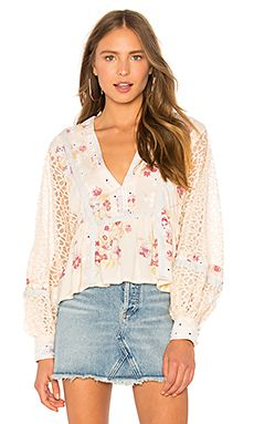 051c63ec98f543 Boogie All Night Blouse Free People  104  shopstyle  shopthelook   summerstyle  clothing  shopstyle  fashion  outfits  ootd  freepeople