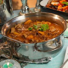 A delicious Moroccan inspired dish cooked to perfection in the AGA. Aga Cooker, Oven Cooker, Luxury Fish Pie, Aga Recipes, European Kitchens, Christmas Cooking, Couscous, Lamb, Healthy Eating