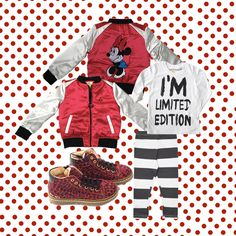 GIRLS LOOK ! Jacket by Little Eleven Paris - Longsleeve by Happiness is a 10$ Tee - Leggins by Diapers & Milk - Shoes by Ocra