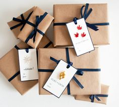 beaded gift tags