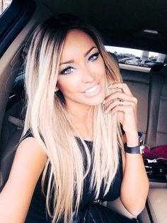 I wish I could pull off this perfect hair color!