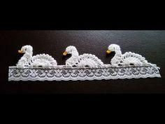 Crochet Elephant Pattern, Crochet Edging Patterns, Crochet Animal Patterns, Crochet Borders, Crochet Motif, Crochet Designs, Crochet Flowers, Knitting Patterns, Knit Crochet