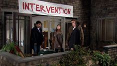 Intervention Banner Inspired by How I Met Your Mother | Cool TV Props