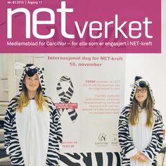 Nytt nummer av CarciNors medlemsblad NETverket. Medlemsbladet tar opp tema som er aktuelle for alle som er rammet av NET-kreft. Les mer om Livskvalitet, Likepersoner, NET-kreft dag, Landskonferanse og mye mer.