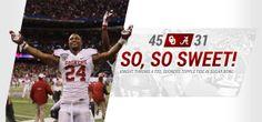 Oklahoma Sooners Sugar Bowl 45 -31