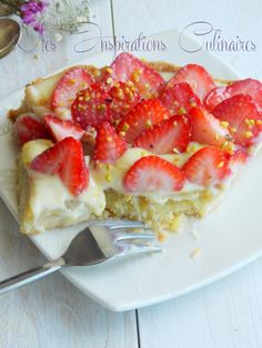 tarte aux fraises a la creme d'amande de michalak