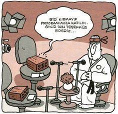 Brick and Kareteci (Yiğit Özgür) – Karikatür ve Mizah – Join in the world of pin Comedy Pictures, Funny Pictures, Comedy Comics, Sweet Memes, Peanuts Comics, Cartoon, Humor, Instagram Posts, Caricatures