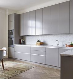 Do you want to have an IKEA kitchen design for your home? Every kitchen should have a cupboard for food storage or cooking utensils. So also with IKEA kitchen design. Here are 70 IKEA Kitchen Design Ideas in our opinion. Hopefully inspired and enjoy! Contemporary Kitchen Cabinets, Modern Kitchen Cabinets, Kitchen Cabinet Design, Modern Kitchen Design, New Kitchen, Kitchen Interior, Kitchen Decor, Kitchen Grey, Kitchen Ideas