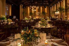 Decoração Tropical Amarela | Vestida de Noiva | Blog de Casamento por Fernanda Floret