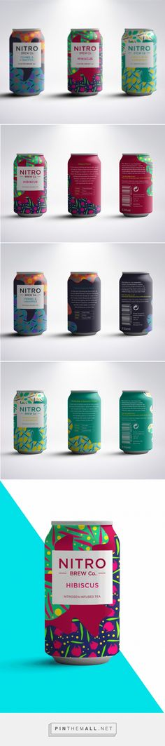 Nitro Brew Co. (Student Project) on Packaging of the World - Creative Package Design Gallery - created on 2017-08-22 13:17:56