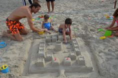 Kids can build their own castle and be a royal.