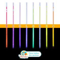 aa1e0451051d Varitas Fluorescentes de todos los colores para que todo el mundo tenga su  favotito 🙌👪