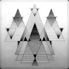 Необычные рисунки из геометрических фигур: 6 тыс изображений найдено в Яндекс.Картинках