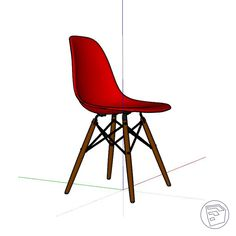 Smart Design, Side Chairs, Eames, Objects, Interior, Furniture, Home Decor, Intelligent Design, Decoration Home