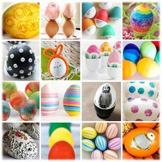 Turn ordinary eggs into EGGStraordinary Easter eggs with dozens of awesome ideas!