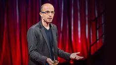 Yuval Noah Harari — author of Sapiens: A Brief History of Mankind — explains why humans have dominated Earth. Yuval Harari, Brief History Of Humankind, Modern Physics, Daily Video, Great Leaders, Ted Talks, Critical Thinking, Historian, Bill Gates
