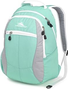 Shop a great selection of High Sierra Curve Backpack, Aquamarine/Ash/White. Find new offer and Similar products for High Sierra Curve Backpack, Aquamarine/Ash/White. High Sierra Backpack, White Backpack, Small Backpack, Best Backpacks For School, Day Backpacks, Backpacks For Girls, Cute Suitcases, Thing 1, School Bags For Girls