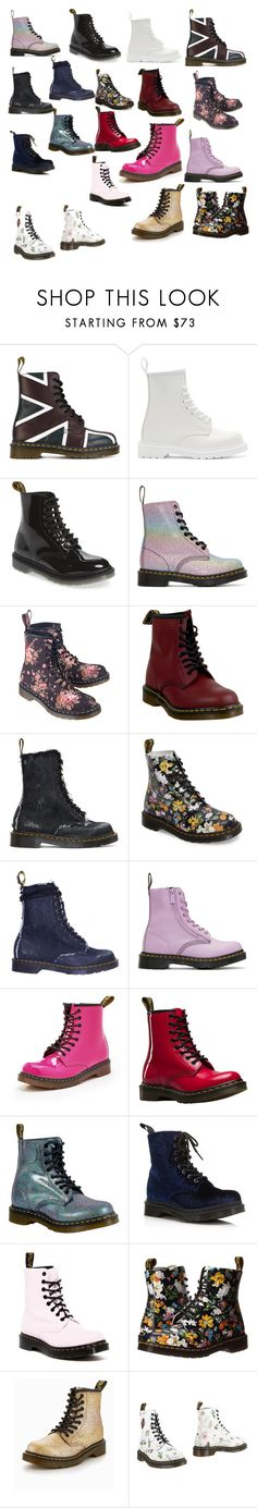 """Dr. Martens"" by instaioistyle on Polyvore featuring Dr. Martens and Off-White"