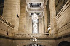 Grand Central Terminal wedding photo