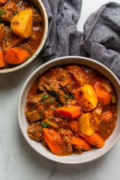Easy Beef Stew, Beef Stew Meat, Parsley Potatoes, One Pot Meals, Pot Roast, Family Meals, Curry, Fresh, Cooking