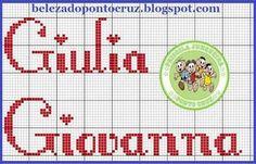 Um bordado congelante!    aqui os gráficos que usei:       para o nome usei a imagem abaixo, não sei o nome da fonte nem tenho o monograma c...
