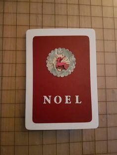 Noel stag card