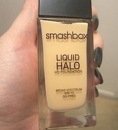Review, Before/After Comparison Photos, Swatches: Smashbox Photo Op Eye Brightening Mascara, Liquid Halo HD Foundation SPF 15, Always Sharp Waterproof Kohl Liner